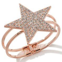 "Paula Abdul FYG Coppertone Reach for the Stars 6.75"" Bracelet E935 #PaulaAbdulFYG #Bracelet"