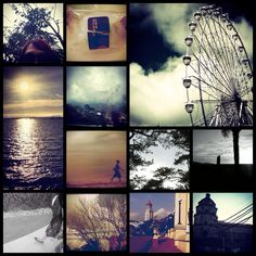 My shots collage