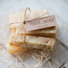 Beer Soap, Gifts For Beer Lovers, Soap Favors, Infused Oils, Soap Holder, Easter Candy, Jute Twine, The Cure, Boutique