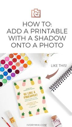 Learn how to add a printable with a shadow onto a stock photo! Great for your printable ideas create printable ideas free printable printable templates art printable diy printable Printable Templates, Free Printable, Printables, Be Like A Pineapple, How To Start A Blog, How To Make, Make Money Blogging, Pinterest Marketing, Online Business