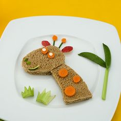 Giraffe Sandwich Recipe