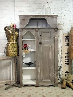 Handmade One of A Kind Farmhouse Cabinet FH204 by paintedcottages, $495.00