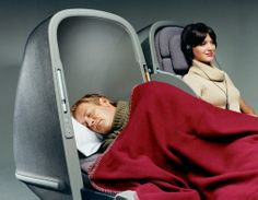 Marc Newson Ltd Skybed Business Class Seat 2002 - Qantas Airways