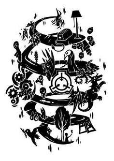 SCP Foundation by SunnyClockwork on DeviantArt Scp 005, Art Series, Dark Art, Spiral, Paths, Cool Art, How To Draw Hands, Foundation, Horror