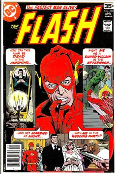 The Viper. Possibly the shortest career of any Flash villain. The Flash april cover by Jose Luis Garcia-Lopez. Comic Books For Sale, Dc Comic Books, Comic Book Covers, Comic Art, Old Comics, Vintage Comics, Garcia Lopez, Flash Comics, Fastest Man
