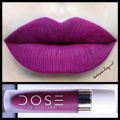 """Berry Me"" from the new liquid mattes by  doseofcolors"