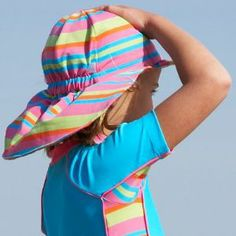 29ea60cb9b4 Girls Kids Children s Mitty James Tropical Legionnaire Beach Sun Hat Sun  Hats