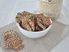 galletas de quinua,sesamo y otras semillas