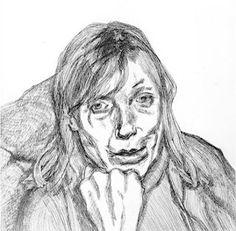 Susanna, 1996  Etching  Lucian Freud