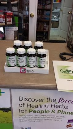 Find us at Fine Herbs / Natures's Remedies on 2605 Howard Ave in Windsor, ON