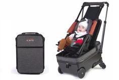 Tecnoneo: Maleta adaptable como un cochecito de bebé