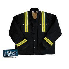 Rasco FR Coat with Reflective Strips