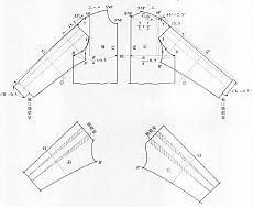 Интересный вариант моделирования рукава на основе венского кроя