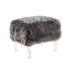 The high-quality Faux Fur Wayne Ottoman by Inspired Home will be the perfect seating addition to your home. The ottoman makes the perfect addition to any room as it can be used as an ottoman, bench, vanity chair, or dressing chair. Dressing Chair, Dot And Bo, Office Fashion, Inspired Homes, Accent Colors, Accent Pieces, Living Room Furniture, Color Pop, Faux Fur