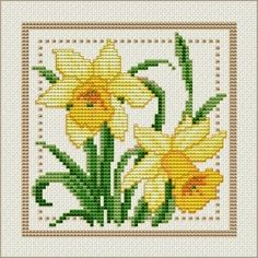 Brownie's Chair: Free Pattern Friday: March Daffodils