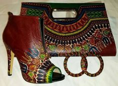Nigerian style, Ghanaian fashion ~DKK just the bag please African Inspired Fashion, African Dresses For Women, African Print Fashion, Africa Fashion, African Attire, African Wear, African Women, Fashion Prints, African Prints