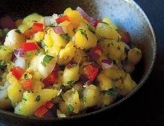 Grilled Pineapple Salsa | Vegetarian Times