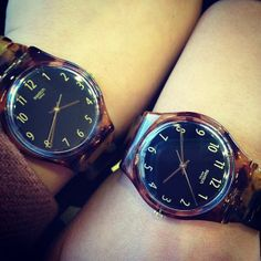 #Swatch Ecaille tortoise-shell