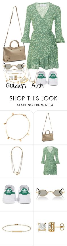 """Spring."" by fashionsetstyler ❤ liked on Polyvore featuring Zimmermann, Balenciaga, Faithfull, adidas Originals, Roberi & Fraud, Loren Stewart and Diana M."