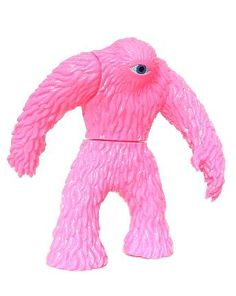 SPACE CYCLOP - by X-Plus - pink sofubi cyclops monster toy