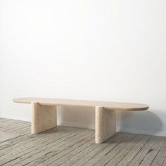 The 'Lavaca' table designed by Yucca Stuff, made from ebonized oak