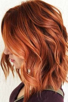 Hair Color Highlights, Ombre Hair Color, Cool Hair Color, Brown Hair Colors, Copper Highlights, Auburn Highlights, Red With Highlights, Red Colored Hair, Red Pink Hair