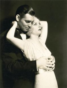 William Clark Gable and Carole Lombard- I wished they would have their lifetime together. So sad she was killed in a plane crash. I loved her roles in movies...