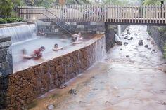 Thermal Springs Pools  Poça da Dona Beija,© Paulo Goulart