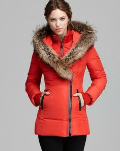 Mackage Down Coat - Adali Lavish Fur Trim Hood on shopstyle.com