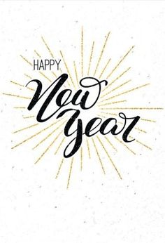 New Year Background Images, Happy New Year Background, Brush Lettering, Lettering Design, Background Screensavers, New Year Resolution Quotes, Happy New Year Pictures, Funny Pictures, Happy New Year Wallpaper