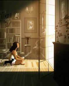 Pascal Campion「Ambitions -Tumbled out of bed and stumbled to the kitchen Poured myself a cup of ambition」