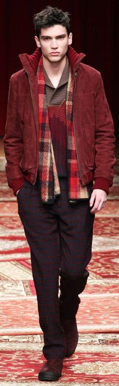 Missoni Fall 2015 Menswear