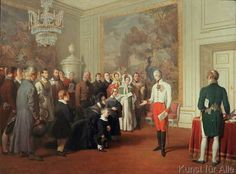 Johann Peter Krafft - Franz I grants a general audience