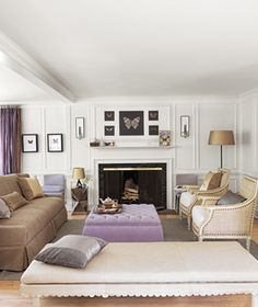 I love seeing different configurations using most of the same furniture. I totally tore this out of #RealSimple