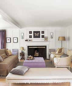 Formal Living Room Arrangement