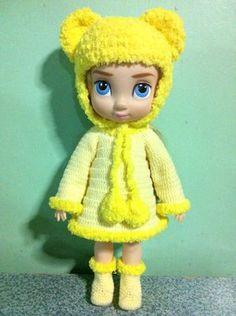 Disney Princess Animator Doll Clothes Disney by Handmade2557, $30.00
