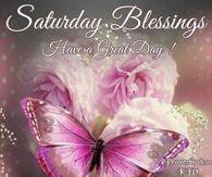 Saturday Blessings