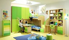 Green-Teenage-Boys-Rooms