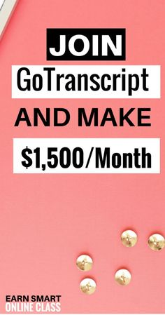 GoTranscript has amazing online transcription jobs for beginners. These are audio transcription jobs you can do from home. Best transcription jobs ever! make money online Earn Money From Home, Earn Money Online, Make Money Blogging, Online Jobs, Way To Make Money, Online Careers, Money Tips, Online Income, Need Money Now
