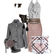 """Antique rose"" by brightfox on Polyvore"
