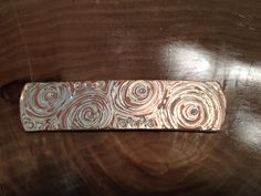 Another new design, following the Wood Grain Motif!!! 4C