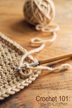 Wanting to learn crochet? Here is a great resource for learning how to crochet.