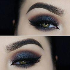 makeup, eyes, and make up image Love Makeup, Makeup Inspo, Makeup Inspiration, Makeup Tips, Beauty Makeup, Makeup Looks, Makeup Ideas, Maquillaje Smokey Eyes, Smokey Eye Makeup