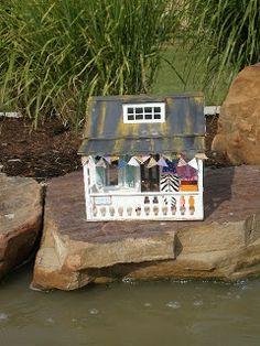 Shabby Chic Beach Dollhouse