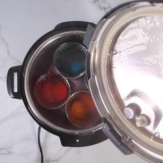Did you know that you can Dye Easter Eggs in your Instant Pot? It only takes 6 minutes. Forget the messy store-bought dye tablets and flimsy wire egg holders; this method is quick, easy Easter Egg Dye, Hoppy Easter, Instant Pot Dinner Recipes, Recipes Dinner, Egg Hacks, Egg Holder, Natural Food Coloring, Deviled Eggs Recipe, Easter Dinner