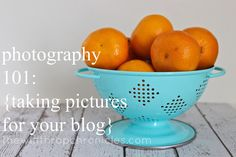 Blog Photography 101
