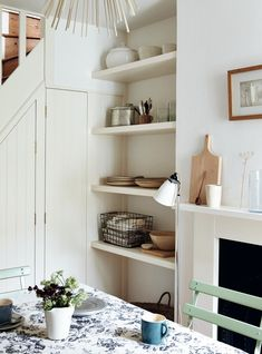 Steal This Look: A Compact Dining Room in a London Victorian: Remodelista