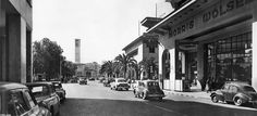 L'Avenue Hassan II à Casablanca - Années 50
