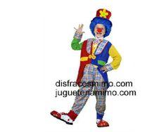 Tu mejor disfraz de payaso abrigo para niño bt 36614.Este comodísimo traje es perfecto para carnavales, espectáculos, cumpleaños y tambien para las fiesta de los colegios como fin de curso o cualquier otras actividades.