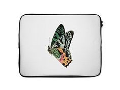 Colorful Butterfly Style 14 Laptop Sleeve Case Bag  10 Inch